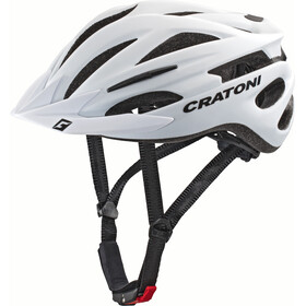 Cratoni Pacer Casco, white matt